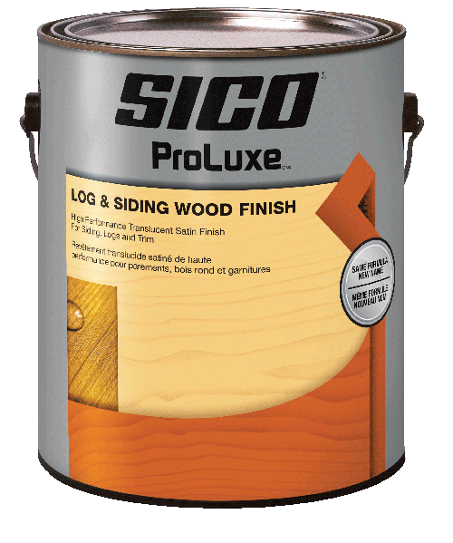 LOG & SIDING WOOD FINISH